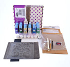 Gallery Glass Innovations Plaid Window Color Paint Set AD173 Open Box