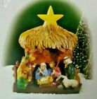 Department 56 Village Accessories 1999 Nativity Creche Lighted Star Christmas