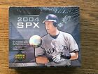 2004 Upper Deck SPX Baseball Hobby Box Factory Sealed. 1 Autographed Jersey