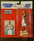 1996 Extended ALLEN IVERSON Starting Line-up Rookie SIXERS Sealed Free Shipping