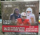 2021 Sage Hit Premier Draft Football Low Series Hobby Box Factory Sealed 16 Auto