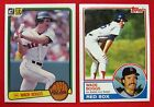Wade Boggs Cards, Rookie Cards and Autographed Memorabilia Guide 6