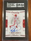 2020 Flawless On Card Auto Barry Larkin Ruby Autograph 20 20 Reds SGC 9.5 10 !