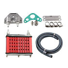 Universal Motorcycle Engine Oil Cooler Cooling Radiator For 50cc 70cc 90cc D9U2