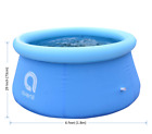 NEW 6 x 29 6 feet Inflatable Round Outdoor Backyard Kids Swimming Pool