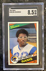 1984 Topps #280 Eric Dickerson Rams RC ROOKIE RC MINT SGC 8.5