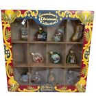 Vintage OWC Old World Christmas Ornaments Grandmas Collection Glass Set of 11
