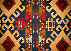 175 Yds NATIVE PRINT WESTERN MOUNTAIN Large Pattern Fabric Remnant