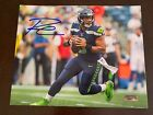 Seattle Seahawks QB Russell Wilson Hand signed autograph 8x10 photograph w COA