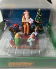 Lemax Village Collection Storybook Santa Claus Reading To Children Tree #93435