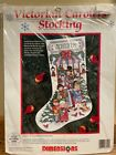 Dimensions Christmas Victorian Carolers Stocking Counted Cross Stitch 8442
