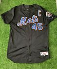 John Franco New York Mets Game Used Worn Jersey 2001 Signed Photo Matched