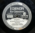 Edison Diamond Disc A Country Fiddler At The Telephone 51048 L Label Missing