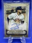 2021 Topps Tier One Autograph GEORGE SPRINGER Tier One Talent Auto #'d 200