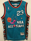 NWT Michael Jordan #23 1996 All Star Men's Teal Throwback Stitched Jersey