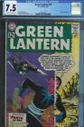 CGC 7.5 GREEN LANTERN #15 EARLY SINESTRO COVER & APPEARANCE 1962 OW W PAGES