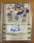 20201 Topps Tier One Larry Walker On Card Auto Autograph 082 150 #T1A-LW Rockies