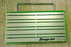 SNAP ON  Tools Magnetic Organizer Holder Tray 12 X 6 Carry Handle HiViz Green