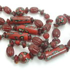Necklace made from Antique African Trade Beads Millefiori Venetian Glass