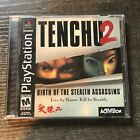 Tenchu 2 Birth of the Stealth Assassins PlayStation 1 Black Label Complete