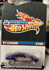 Hot Wheels 2012 Mexico Convention 67 Camaro w Real Riders LE 37 Of 50 Purple