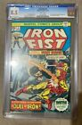 Iron Fist #1 CGC 8.5 1975 Iron Man Cover Classic Key Issue White Pages