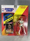 1992 Starting Lineup LARRY BIRD Boston Celtics with Poster and Collectors Card