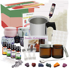 Diy Candle Making Kit Supplies Complete Beginners Set With Soy Wax Pot Tins
