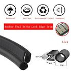 Moulding Rubber Seal Trim Strip 120 All Weather Protect Car Door Edge Window