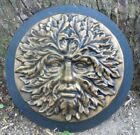 Greenman mold plaster concrete Green man face plaque mould 1125 x 15 thick