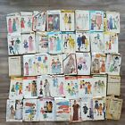 Vintage Lot of 40 Sewing Clothing Patterns McCalls Butterick Simplicity Kwik