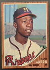 Vintage Topps Hank Aaron Baseball Cards Showcase Gallery and Checklist 73