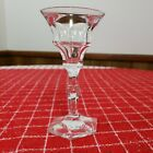 Moser Crystal Diplomate Pattern Single Glass Signed Great Condition