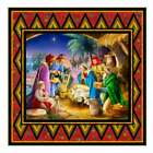 Nativity Diamonds Quilt Kit 51x51 Pine Tree Country Quilts for Quilting