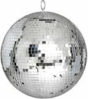 Large 12 Mirror Glass Disco Ball DJ Dance Home Party Bands Club Stage Lightning