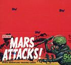 Mars Attacks Topps Heritage Retail Card Box 24 Pack Factory Sealed 2012 Topps