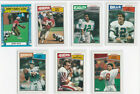 1987 Topps Football Complete Set 396 with 1000 Yard Club Cunningham Rice Kelly