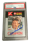 MARIO ANDRETTI SIGNED AUTOGRAPH SLABBED 1994 K MART WORLD INDY CARD PSA DNA