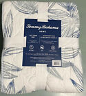 Tommy Bahama Ocean Leaves Reversible Full Queen Quilt NWT