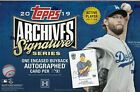 2019 Topps Archives Signature Series Baseball Box Active Player 1 Auto Free Ship