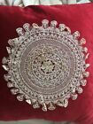 Rare Classic Antique Handmade Armenian Knotted Needle Lace Doily Not Crochet