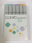 Copic Sketch Dual Tipped Refillable Alcohol Ink Markers 24 COLORS AS PICTURED