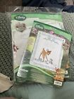 Janlynn Disney BAMBI Stamped Cross Stitch Baby Quilt And Birth Announcement