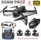 2021 New 3 Axis Beast 4K RC Drone SG906 PRO 2 with HD Camera and GPS quadcopter
