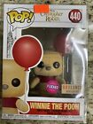 Funko Pop! #440 - Flocked Winnie The Pooh with Red Balloon Box Lunch Exclusive