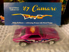 Hot Wheels 27th CONVENTION DINNER GIVEAWAY 67 CAMARO HOT PINK 1 Of 3 Raffled
