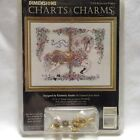 Dimensions Charts  Charms Bejeweled Prancer Cross Stitch Carousel Horse 72308