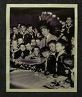 RARE 1955 Photo Milwaukee Braves JOHNNY LOGAN  Cub Scouts Pack Signed Placemat