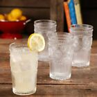 The Pioneer Woman Adeline 16 Ounce Embossed Glass Tumblers Set of 4 Clear