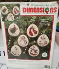 DIMENSIONS CHRISTMAS CROSS STITCH KIT MYSTICAL ANGEL ORNAMENTS Open  Started